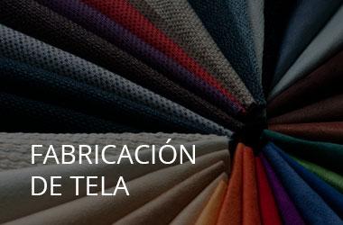 Fabricacion tela industria textil