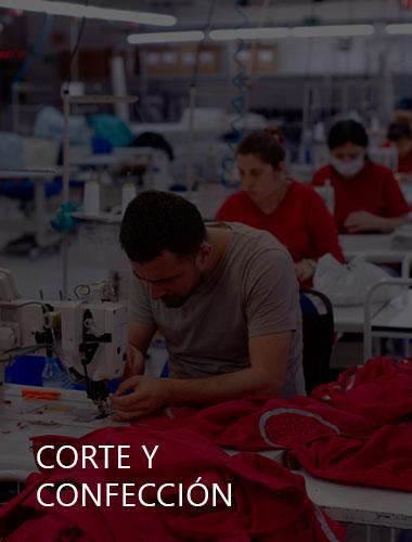 corte y confeccin industria textil